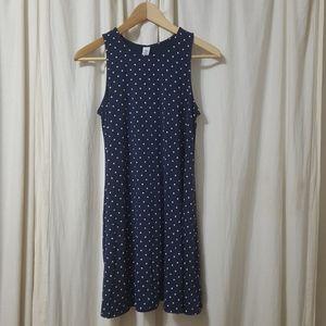 Old Navy Polka Dot Swing Dress Small Petite